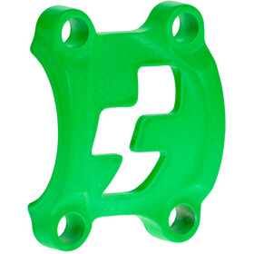 Cube Front Plates Stem Clamp neon green